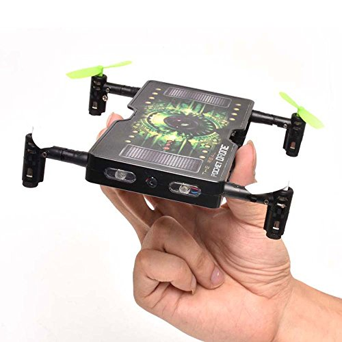 *Hunpta 1325 folding Pocket Mini Drohne Selfie 2.0MP HD Kamera 2,4 G 4CH RC Quadrocopter (A)*
