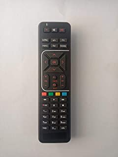 Airtel Digital TV DTH Remote Compatible with SD and HD Recording Black