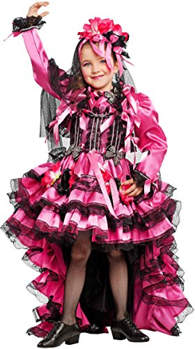 KOSTÜM FASCHING KARNEVAL BALLERINA BRASILIANISCHES für KARNAVALKOSTÜME fancy dress halloween cosplay veneziano party 53204 Size 10/XL