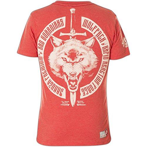 Yakuza Premium T-Shirt YPS-2212 Rot Rot
