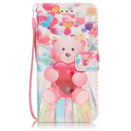 iPhone 6 Plus Custodia in Pelle,iPhone 6S Plus Cover Portafoglio,Etsue Lusso/Retro/Elegante Style Disegni Artificiale Leather PU Flip/Wallet/Libro Bookstyle Con Chiusura Magnetica/Card Slot/Supporto d &29