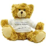 Neurosis is the - Sigmund Freud - Plush Teddy Bear