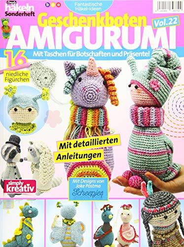 Fantastische Häkel-Ideen: Geschenkboten AMIGURUMI Vol. 22: Mit Taschen für Botschaften und Präsente! -