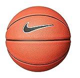 Nike Ballon de Basket Adulte Swoosh Ambre, Noir et Blanc - Taille 3