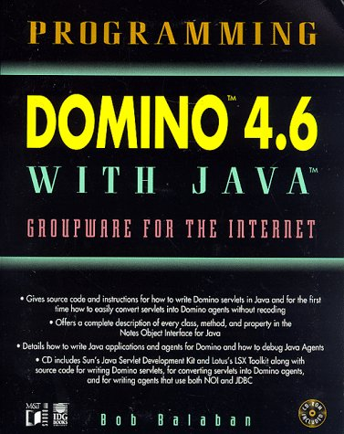 Programming Domino 4.6 with Java