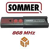 Sommer 4020 tx03 868 4 t l commande pour porte de garage 4 boutons bricolage - Sommer telecommande porte garage ...