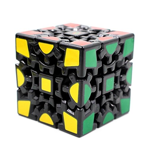 Futurekart Magic Cube 3X3 V1 Gear, Black