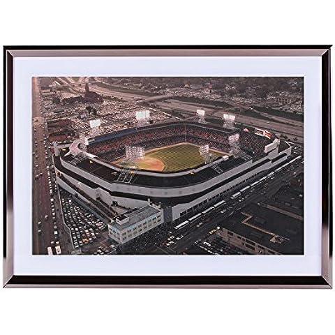 Arte–plateado de pared marco de madera imagen–Viejos tigres stadium, Detroit, MI & # 163; & # 168; 16x 12pulgadas & # 163; (C)