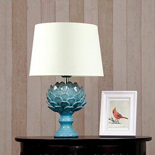 Creative Light- Moderne Chinesische Art-Keramik-Studie Schlafzimmer Nacht Wohnzimmer Tischlampe