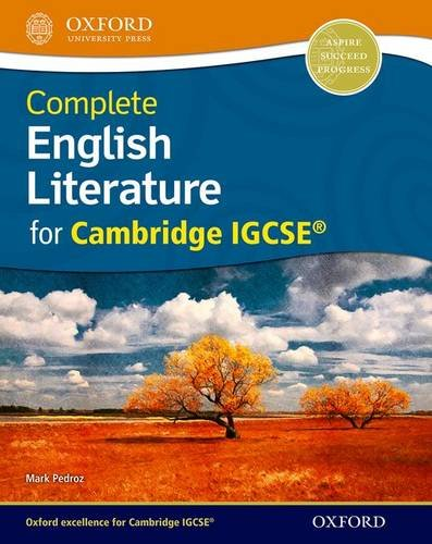 Complete English Literature for Cambridge IGCSE® por Mark Pedroz