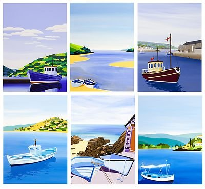 innocent-art-pack-of-6-blank-greeting-cards-by-cornish-artist-shirley-netherton-assorted-card-bundle