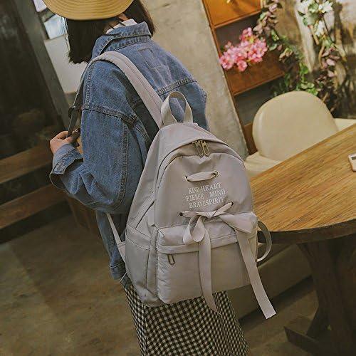 SQBB Schoolbag female Korean version Japanese soft girl academy wind wind wind junior high school junior student shoulder bag female,grigio ww-1249 B07FRNC4LL Parent | Economici Per  | Materiali Di Alta Qualità  | Primi Clienti  c6a0d5