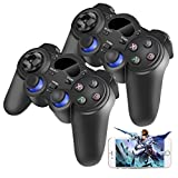 2 x 2.4G Wireless Game Controller Gamepad Joystick für PS3 Android TV Box Tablet