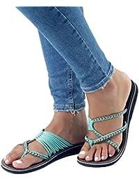 Suchergebnis auf für: geflochten Grün Sandalen