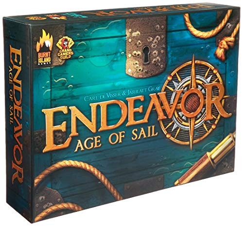 Burnt Island Games BTI1001 Endeavor Age of Sail
