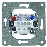 PEHA 00193611 Grundelement Taster mit Kontrolllicht für alle Unterputz-Programme 10 A 250 V, 1-polig, Wechseltaster, als öffner oder Schließer einzusetzen