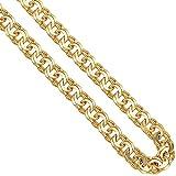 5,2mm Garibaldikette Goldkette Kette Collier 585 Gold Gelbgold 45cm Damen