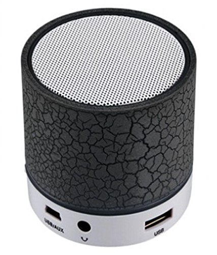 EXIXA Rechargeable Bluetooth Speaker WITH LED Wireless Bluetooth Speaker with Handsfree Calling Feature, FM Radio & SD Card Slot  available at amazon for Rs.249