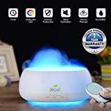 #10: TESCO Cloud Mist air humidifier, aroma diffuser with multi color lamp 500ml with remote control & timer function for home, office, gym, spa, baby room - 1 year warranty