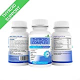 THYROID COMPLEX. 60 Premium Supplements with 14 ACTIVE INGREDIENTS, including L-Tyrosine, Iodine, Vitamin B12, Selenium, Kelp & Magnesium for supporting both under/active THYROID. 100% GUARANTEE! By SUPPLEMENTSYOU
