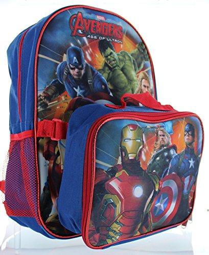 Marvel, Jungen Kinderrucksack Blau blau Einheitsgröße