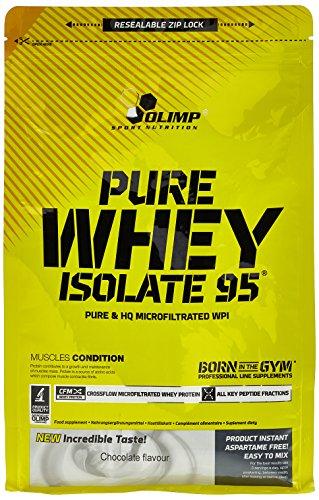 #Olimp Whey Isolate 95 Schokolade, 1er Pack (1 x 600 g Beutel)#