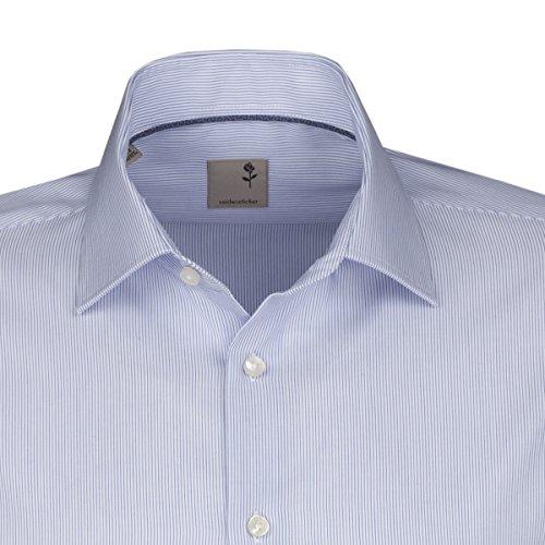 Seidensticker -  Camicia classiche  - Classico  - Maniche lunghe  - Uomo Blu chiaro (12)