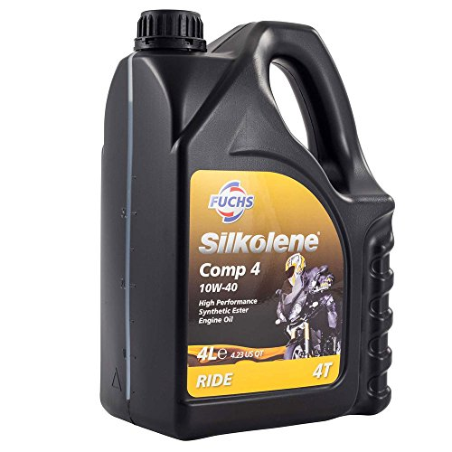 fuchs-silkolene-comp-4-10w-40-high-performance-motorcycle-engine-oil-4-litre