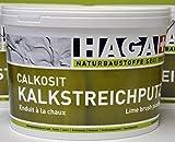 HAGA Calkosit Kalkstreich- und Rollputz 5 kg