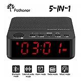 5 in 1 Radiowecker digital von Pathonor, Bluetooth Lautsprecher, drahtlose...