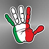 cm 10 erreinge Sticker Italia Italy Italie Italien Coccarda Rosette Roset/ón Decal Cars Motorcycles Helmet Wall Camper Bike Adesivo Adhesive Autocollant Pegatina Aufkleber