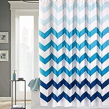 Moho impermeable gruesa cortina de ducha/Baño poliéster baño ducha cortina tela/Cortinas añadir al plomo-B