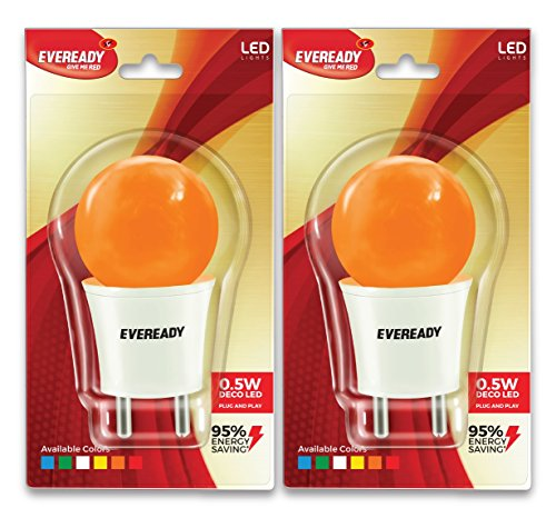 Eveready 0.5 Watt Plug and Play T Type Deco LED Bulb