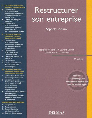 Restructurer son entreprise : Aspects sociaux