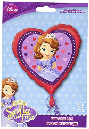 Amscan International Standard Sofia die Erste Love