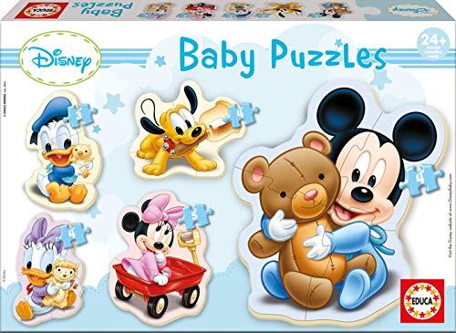 Educa Borrás - Puzzle Baby de Mickey Mouse (13813)