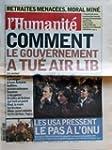 HUMANITE [No 18192] du 07/02/2003 - R...