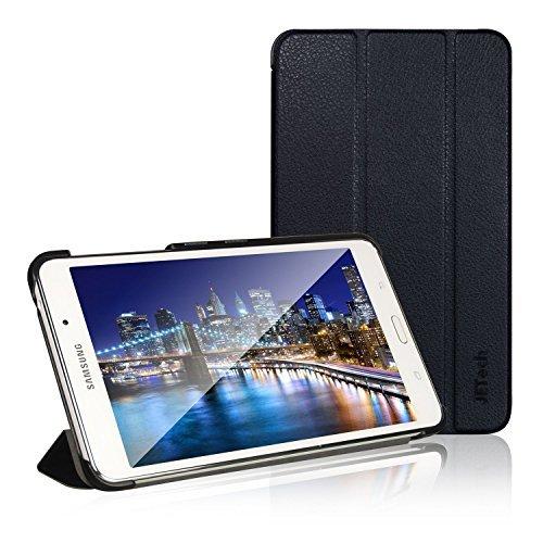 amsung Galaxy Tab 4 7,0, Schutzhülle mit Ständer Funktion und Auto Schlaf/Wachen, Schwarz ()
