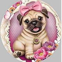5D DIY Diamond Painting Pug Dog Animals Embroidery Diamond Painting Cross Stitch Rhinestone Mosaic Painting30 × 40 cm / 15 × 11In