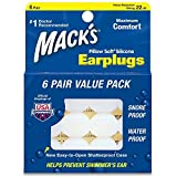 Macks Pillow Soft Moldable Silicone Putty Earplugs 6 Pairs x 3 (18 Pairs) immagine