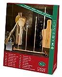 Konstsmide 3541-010TR LED Metallleuchter verkupfert / für Innen (IP20) /  3V Innentrafo / 4 warm weiße Dioden / schwarzes Kabel