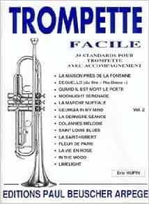 Amazon.fr - Partition : Trompette facile vol 2 - Collectif