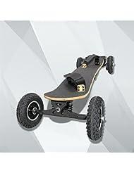 GZD Figtingeagle Moteur de courroie électrique puissant à quatre roues skateboard 1650W Skateboard électrique Skateboard à quatre roues électriques à l'extérieur avec télécommande (noir)