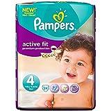 Pampers active Fit Taille 4 Maxi 7-18kg (24) - Paquet de 2