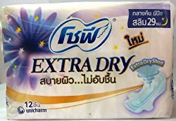 Sofy Extra Dry Nightday Wing Slim 29 cm.