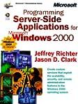 Programming Server-Side Applications...