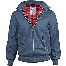 Uomini Gensen Classico Retro Vintage Mod Harrington Jacket Nuovo Cappotto 7311aa3bb49