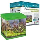 All Pond Solutions Nano-Aquarium/LED-Beleuchtung, klein, 29 l, grün