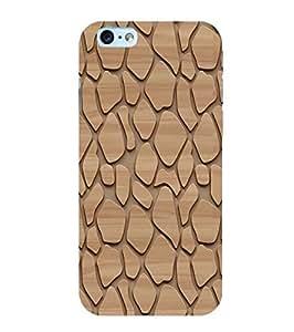YuBingo Apple iPhone 6 Designer Phone Back Case Cover ( Pattern of Wood )