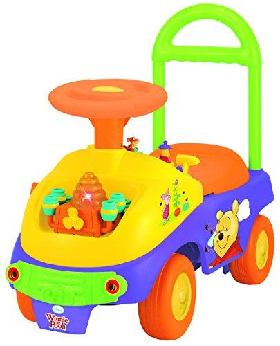 Kiddieland - porteur winnie the pooh - jouet premier age - porteur bebe